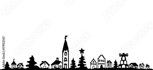 Weihnachten Stadt - 179152567