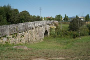 Römische Brücke, Tui, Camino de Santiago, Spanien
