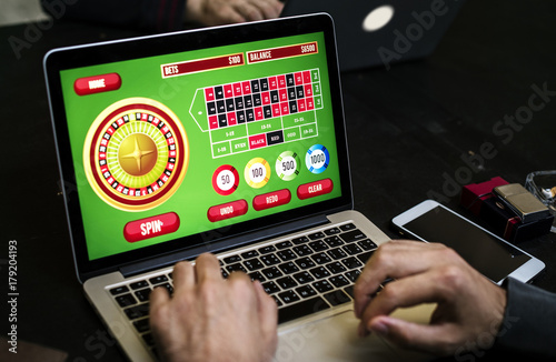 Diverse adults gambling shoot Poster