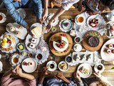 Friends Gathering Together at a Tea Party - 179210160
