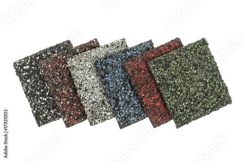Asphalt shingles samples - 179210133