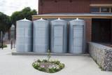 Rainwater Tanks and Storage Sheds, Goodman Building, Adelaide Botanic Garden - 179214728