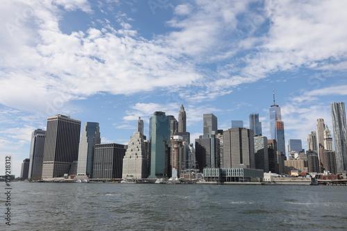 Foto op Aluminium New York Lower Manhattan