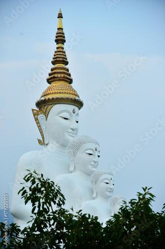 Fotobehang Thailand Five Buddha