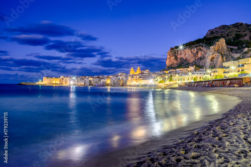 Foto op Aluminium Palermo Cefalu, Ligurian Sea, Italy, Sicily