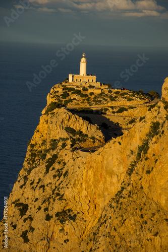 Fotobehang Vuurtoren Urlaub, Holiday, Strand, Beach, Mallorca, Flower, Blumen, Pflanzen, Tiere, Landschaften, Landscape