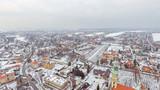 Fototapeta City - Tychy, panorama miasta z drona © Wojciech
