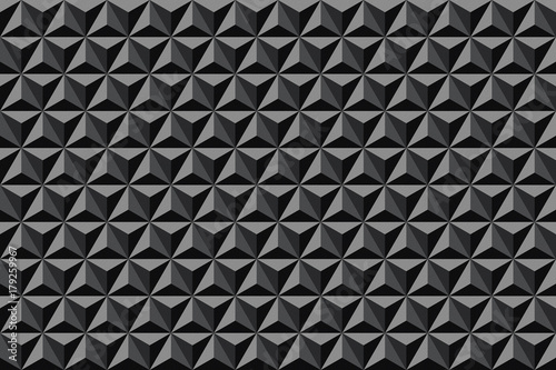 3d geometric pattern. Textured background. - 179259967