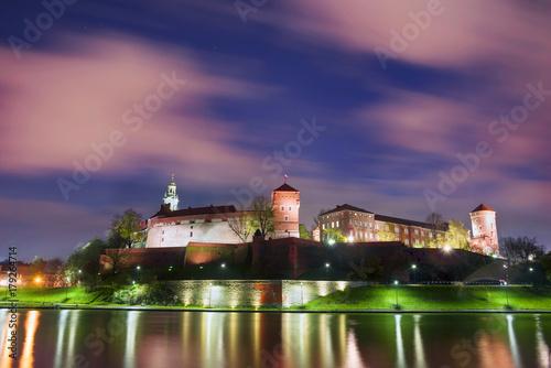 Foto op Plexiglas Krakau Ancient castle of Wawel