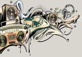 Music graffiti - 179282578