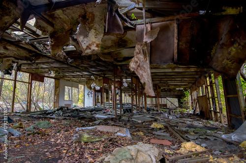 Fotobehang Gebouw in Puin Lost Places