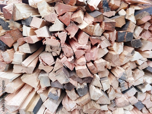 Papiers peints Texture de bois de chauffage Holz