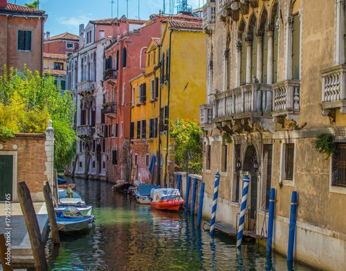 Foto op Plexiglas Venetie Venedig, Stadt auf Pfählen