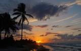 Sonnenuntergang Playa  Santa Maria, Playa del Este, Havanna auf Kuba | Karibik