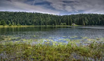 Lac Genin à Oyonnax, Ain, France