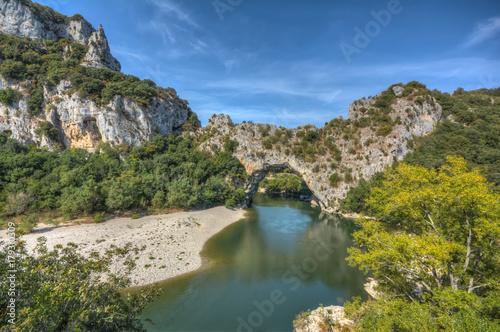 Foto Murales Le Pont d`Arc