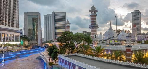 Deurstickers Kuala Lumpur Mosquée de Kuala Lumpur