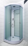 Bathroom with new shower cabin - 179330308