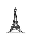 Eiffel Tower Line