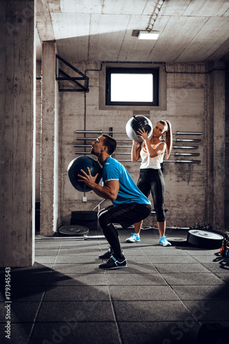 Couple At The Cross Training
