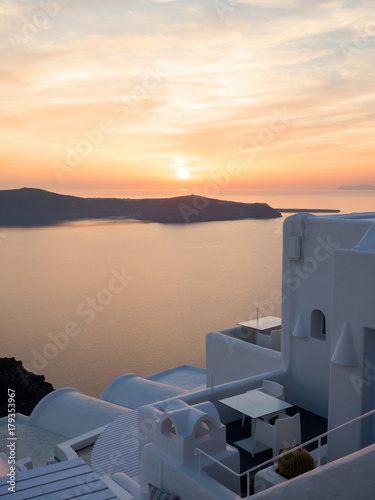 Foto op Plexiglas Santorini beautiful view of Santorini island