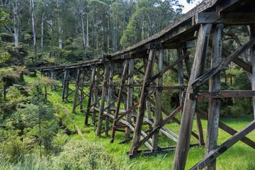 The Monbulk Trestle Bridge