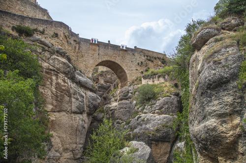 Papiers peints Cappuccino Pont en pierre en espagne