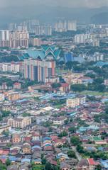 Vue générale Kuala Lumpur