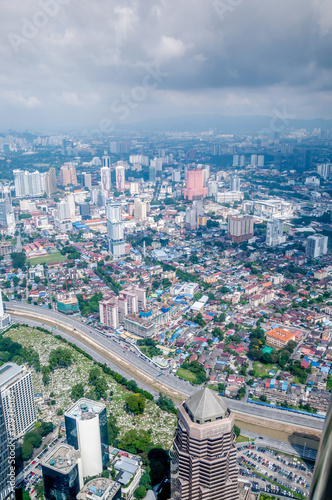Fotobehang Kuala Lumpur Vue générale Kuala Lumpur