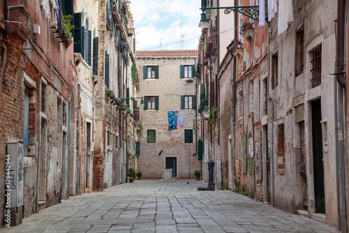 Fototapeta Wohnhäuser in Venedig, Italien