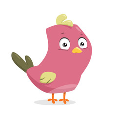 Cartoon vector bird