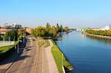 Strasbourg - quai Piquart + bassin de remparts - 179462358