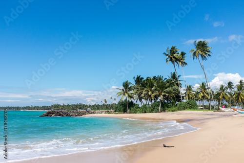 Fotobehang Tropical strand Sri Lanka