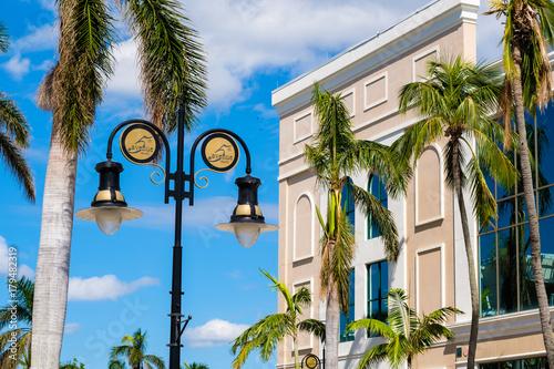 Deurstickers Napels Naples Florida cityscape