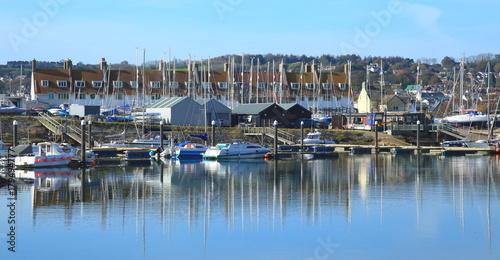 Axe Harbour in Seaton, East Devon Poster