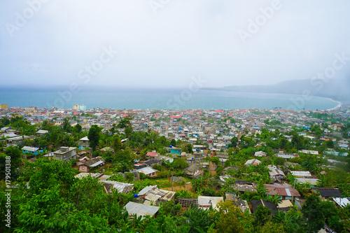 Foto op Canvas Wit Baracoa Cuba