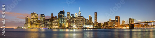 Staande foto New York High resolution view of New york city - United states of America