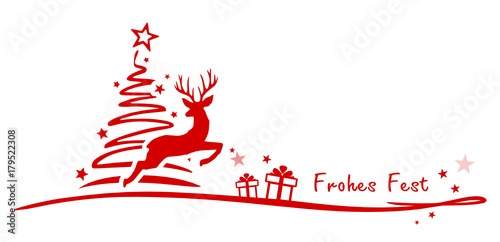 Christmas Tree Rendeer