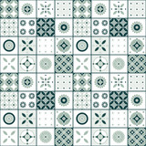 Seamless vector vintage tile pattern design. Design for covers, tiles, packaging - 179558395