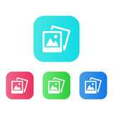 Four Colors - Flat App Icons - 179564134