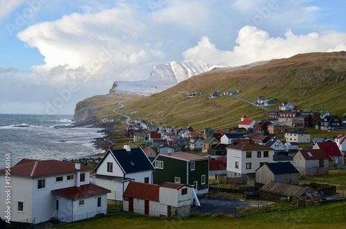 Foto op Plexiglas Bruin フェロー諸島 Faroe Islands スドゥロイ島 スヴロイ島 Suðuroy Suduroy Island スンバ Sumba