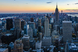 Colors of the skyline in NYC, USA - 179586366