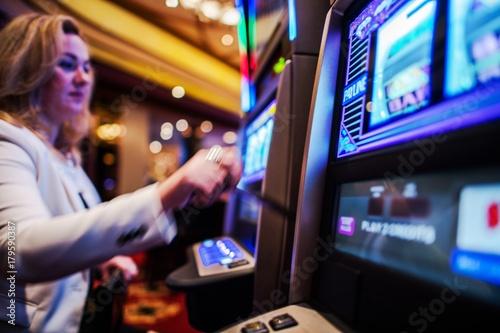 Casino Slot Games Play Obraz na płótnie