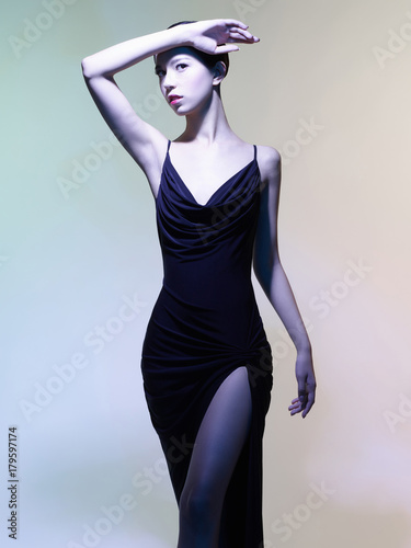 Plexiglas Women Art Beautiful asian woman
