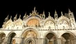 Venice Italy Basilica of Saint Mark illuminated at night