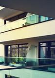 Balkon bogatego apartamentu
