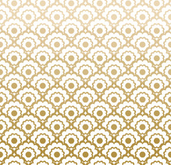 Decorative grille. Seamless pattern with stylized ornament in oriental style. © difinbeker
