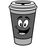 Coffee Mascot Illustration
