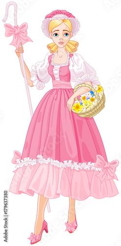 Papiers peints Magie Charming Shepherdess