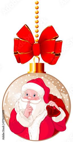 Foto op Aluminium Sprookjeswereld Santa Claus
